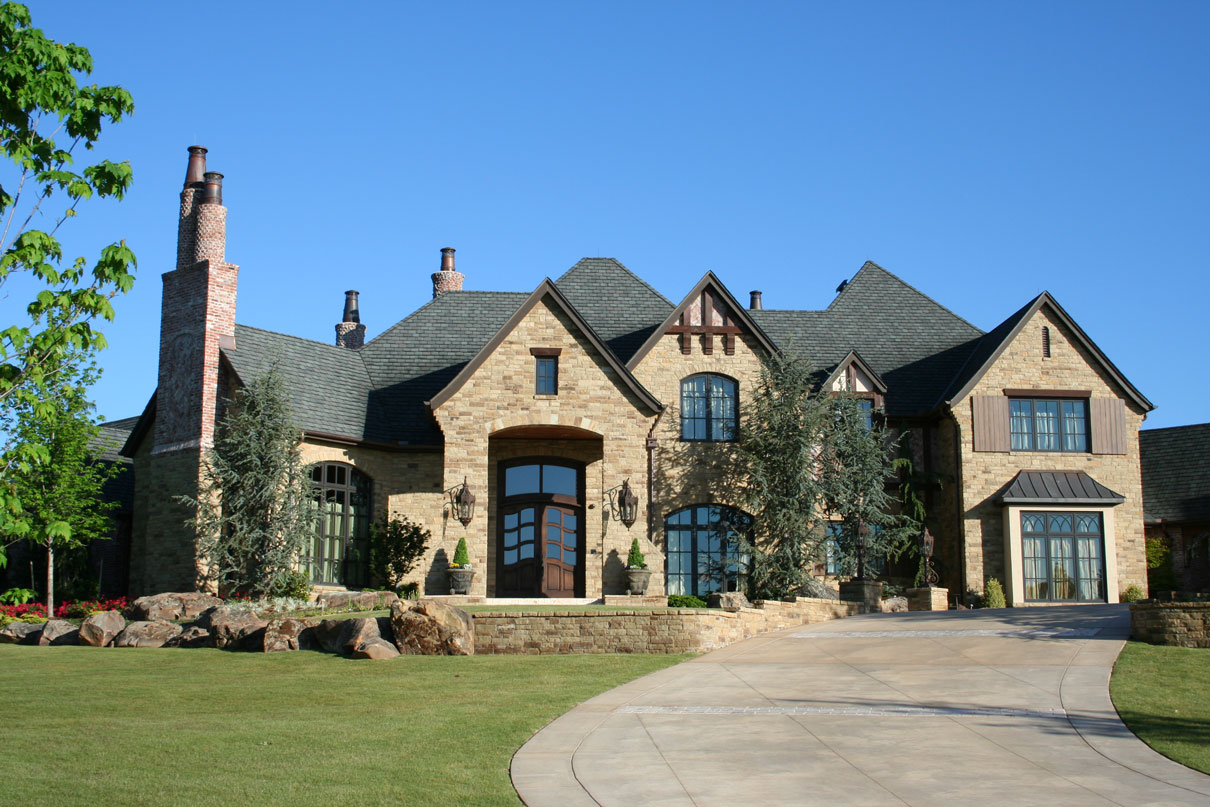 Brent gibson classic home design for Old world home designs
