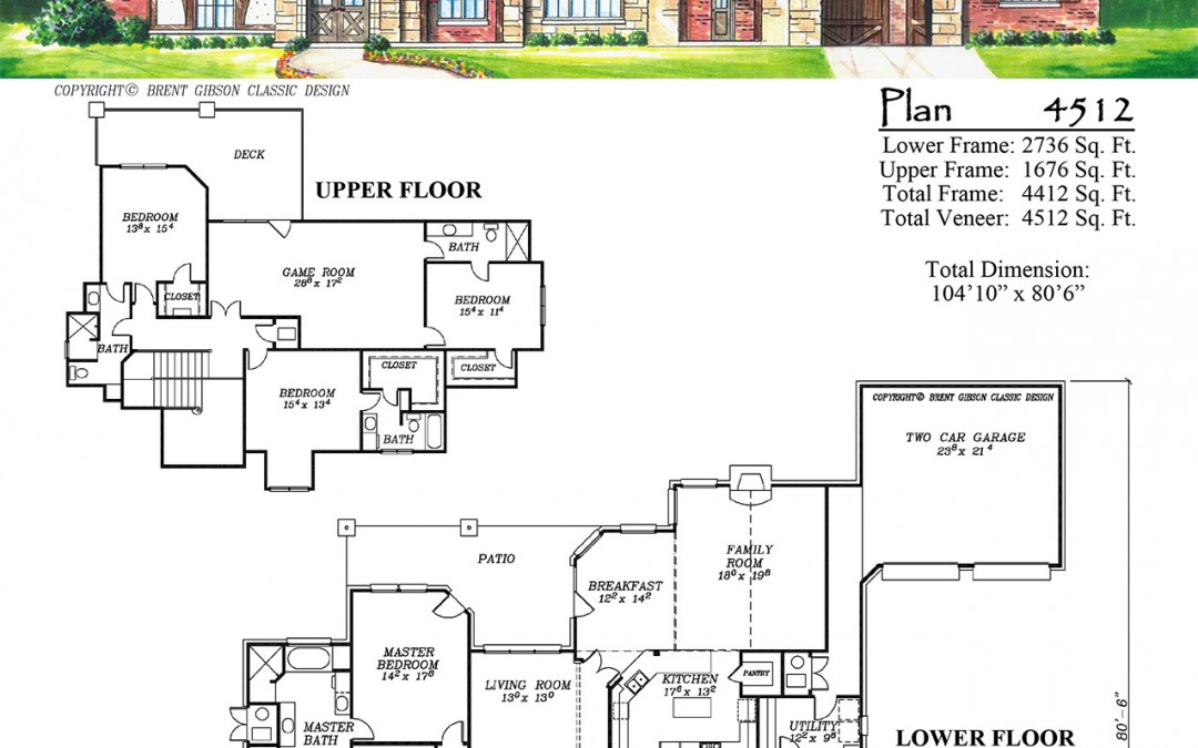 Plan 4512 – English Tudor